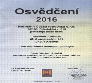 Hörmann_Osvědčení 2016_kop_1