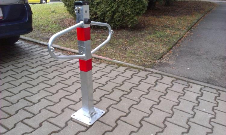 Mechanické parkovací zábrany 2