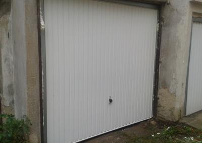 Garážová vrata výklopná